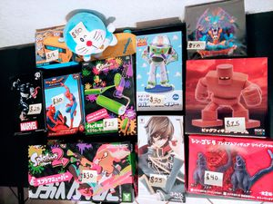 Misc Anime / Nintendo/Marvel Figures for Sale in Chula Vista, CA