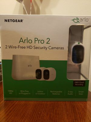 *** Arlo Pro 2 Wire Free 2 Camera system *** for Sale in Gilbert, AZ