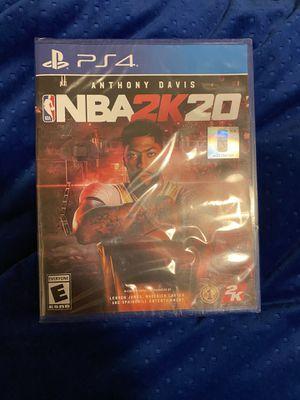 NBA 2k20 ps4 for Sale in Newcastle, WA