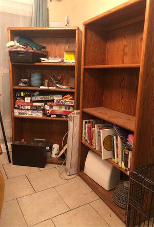 Bookcases (All 3) for Sale in Baton Rouge, LA
