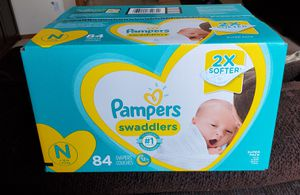 Pampers diapers N for Sale in Renton, WA