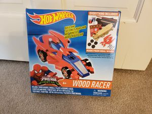 Hot wheels wood racer for Sale in Victoria, TX