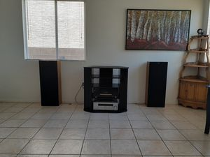Sony Hi Fi Stereo Amplifier/ Receiver AND two Sony Speakers! Sounds Great or your Money Back. for Sale in Las Vegas, NV