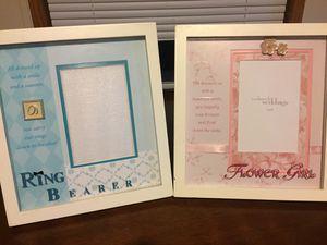 Wedding-Flower Girl/Ring Bearer Photo Frames for Sale in Menomonie, WI
