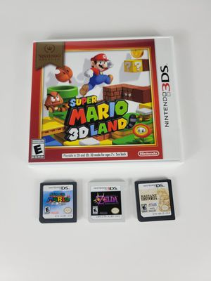2 Ds games and 2 Nintendo 3Ds game for Sale in Phoenix, AZ