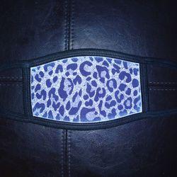 Silver cheetah face mask w/filter for Sale in Murfreesboro,  TN