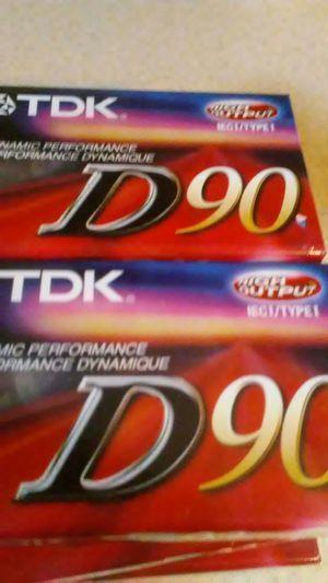 10. TDK. D90 CASSETTES for Sale in Spokane, WA