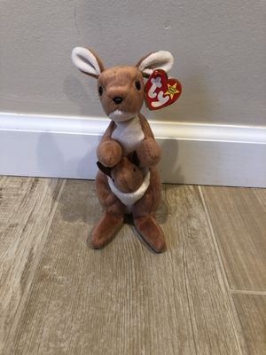 Pouch Beanie Baby TY 1996: Near-Mint Condition for Sale in Oceanside, NY