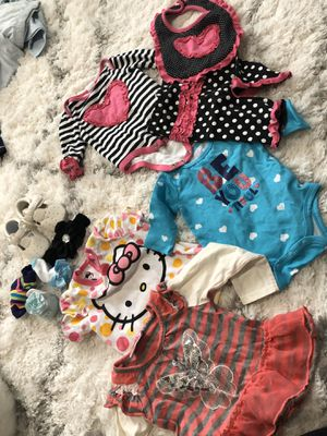 Baby girls lot : NB- 6 months for Sale in North Royalton, OH
