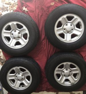 Jeep Wrangler Tires/Wheels for Sale in Meriden, CT