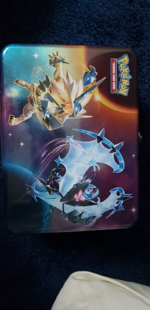 Pokemon Ultra Sun/Moon Trading Card Collectible Tin for Sale in Fort Worth, TX