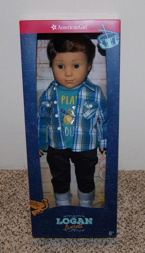 Brand New SEALED BOX American Girl Logan Everest LIMITED EDITION DOLL!!! NO LOWBALLERS! for Sale in Guadalupe, AZ