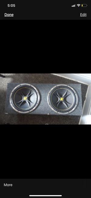 Kicker speakers for Sale in Columbus, OH