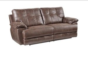 Brand New Chocolate Reclining Set for Sale in Nashville, TN