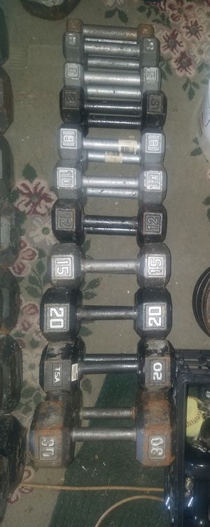 Dumbbell weights for Sale in Tinley Park, IL