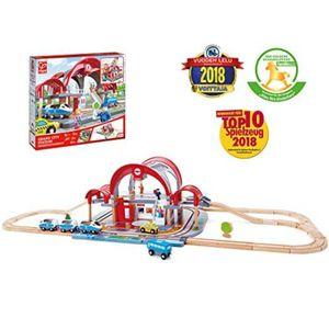Hape Grand City Station Railway Playset, Multicolor (E3725) for Sale in Coal City, IL