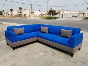 SEA MICROFIBER COMBO SEA MICROFIBER COMBO SECTIONAL COUCHES for Sale in Indio, CA
