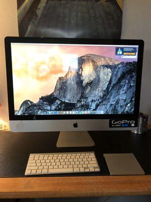 """Apple 27"""" IMAC Desktop 3.4GHz Intel Core I7 w/1TB memory for Sale in Bonney Lake, WA"""