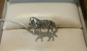 92.5 Solid Sterling Silver Horse Ring. for Sale in Pawtucket, RI
