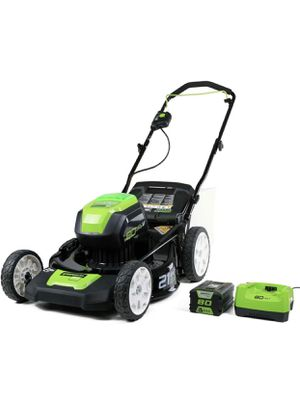 "New, Greenworks Pro 21"" cordless push lawn mower for Sale in West Valley City, UT"