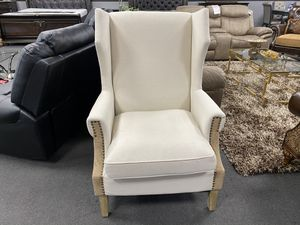 Off white Accent chair ON SALE🔥 for Sale in Fresno, CA