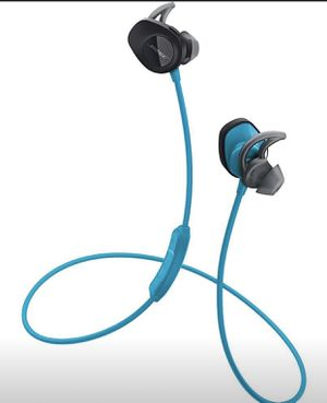 Bose SoundSport Wireless Headphones - Aqua/Blue for Sale in Sunnyvale, CA