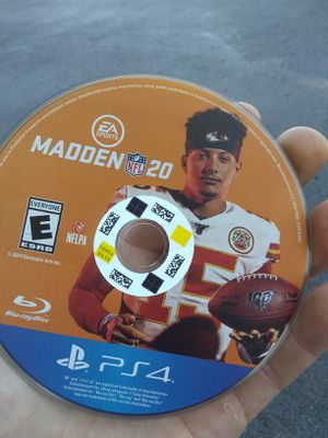 Madden 20 just disc new for Sale in Vancouver, WA