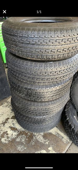Tires trailer st 215/75r14 40 dlls each for Sale in Spring Valley, CA