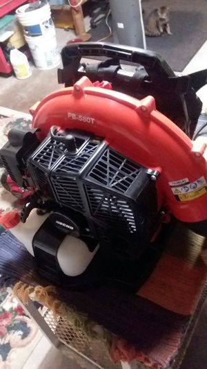 COMMERCIAL GRADE 4 MONTHS OLD ECHO BACK PACK BLOWER for Sale in Tampa, FL