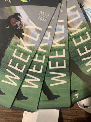 AT&T weekly tickets golf tournament for Sale in Monterey, CA