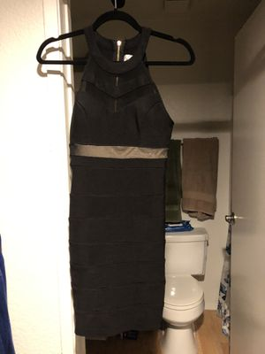 Fitted black and nude dress for Sale in Rancho Cucamonga, CA