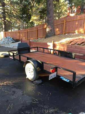 2016 Carson trailer 12x6 1/2 deck for Sale in Running Springs, CA