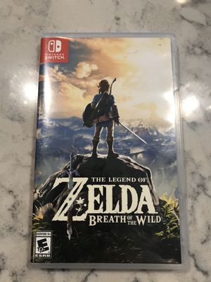 The Legend of Zelda-Breath of the Wild for Sale in Warwick, RI