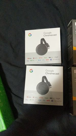 Google chromecast for Sale in Overland Park, KS