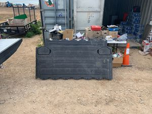 Decked tool box with 2 sliders fits Chevy for Sale in San Angelo, TX