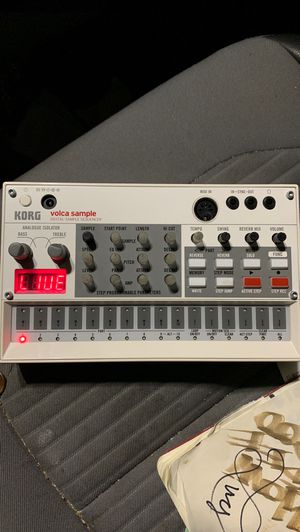 Korg Volca Sample TONIGHT 60$ for Sale in Kirkland, WA