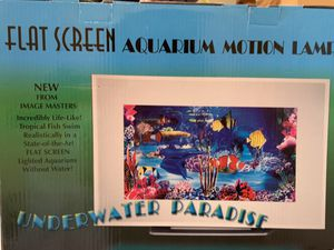 Motion aquarium light for Sale in Lorton, VA