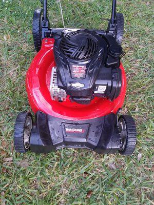 Lawnmower lawn mower yard machine push mower ready start n new conditions run like new. for Sale in Hollywood, FL