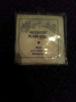 Acoustic steel guitar strings for Sale in undefined
