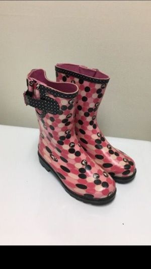 Girls rain boots size 13 kids for Sale in Silver Spring, MD