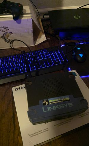 LinkSys Router With D-Link box for Sale in Bushnell, FL