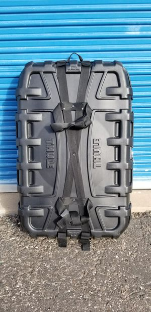 """Thule round trip bike travel case. Measures approx: 32"""" wide x 47"""" tall x 12"""" deep. for Sale in undefined"""
