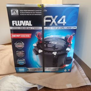 FLUVAL FX4 250 Gal FISH TANK FILTER for Sale in Huntington Beach, CA