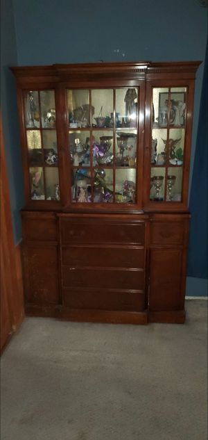 Antique China Hutch...huge & heavy must go ASAP for Sale in South Pasadena, CA
