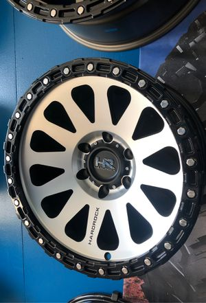 """Rims rines wheels 17"""" for Tacoma Chevy gmc ford ram Jeep rubicon available big inventory for Sale in San Jacinto, CA"""