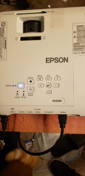 Epson Projector for Sale in Baldwin City, KS