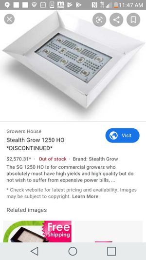 LED. SG Stealth 1250 HO for Sale in Inglewood, CA