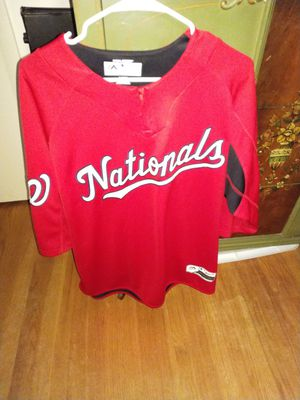 Washington Nationals Majestic Cage Jacket for Sale in Falls Church, VA