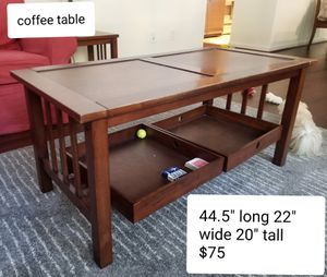 Coffee Table and End Tables for Sale in Belmont, CA