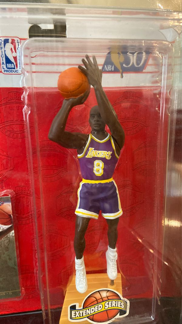 Los Angeles Lakers 1996 Starting Lineup Kobe Bryant ROOKIE Action Figure w/Case- Excellent Condition!